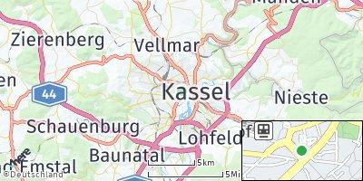 Google Map of Kassel