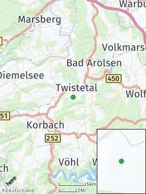 Here Map of Twistetal