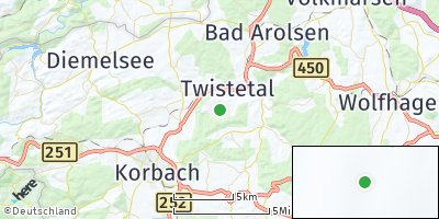 Google Map of Twistetal