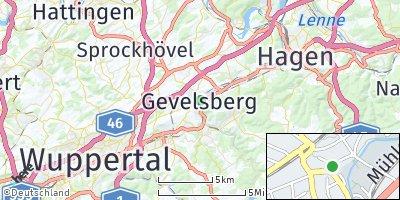 Google Map of Gevelsberg
