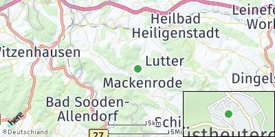 Google Map of Wüstheuterode