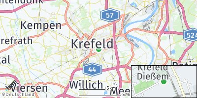 Google Map of Dießem / Lehmheide