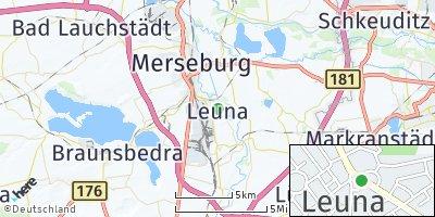 Google Map of Leuna