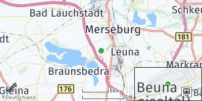 Google Map of Beuna