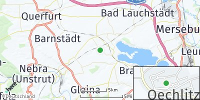 Google Map of Oechlitz