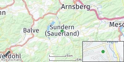 Google Map of Sundern