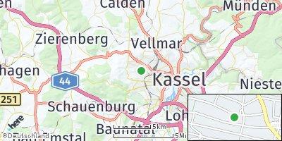 Google Map of Kirchditmold