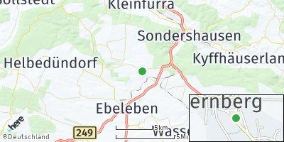 Google Map of Schernberg bei Ebeleben