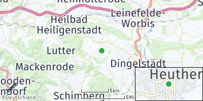 Google Map of Heuthen