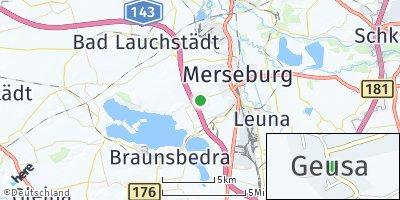Google Map of Geusa