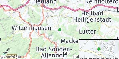 Google Map of Gerbershausen