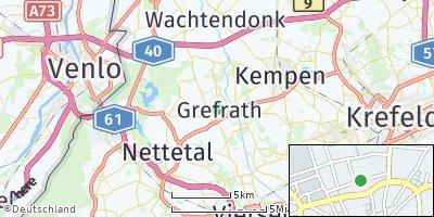 Google Map of Grefrath