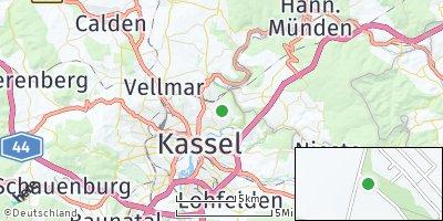 Google Map of Wolfsanger / Hasenhecke