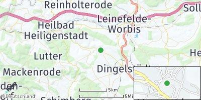 Google Map of Kreuzebra