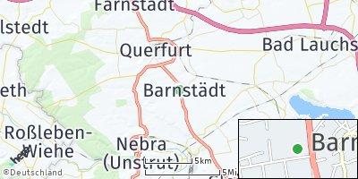 Google Map of Barnstädt