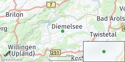 Google Map of Diemelsee