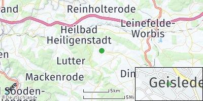 Google Map of Geisleden