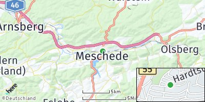 Google Map of Meschede