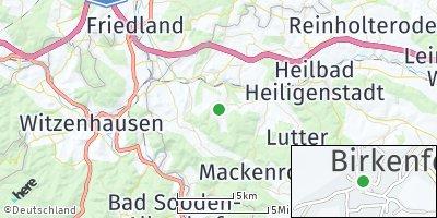 Google Map of Birkenfelde