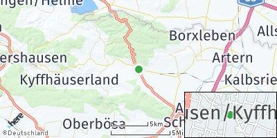 Google Map of Bad Frankenhausen