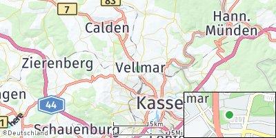 Google Map of Vellmar