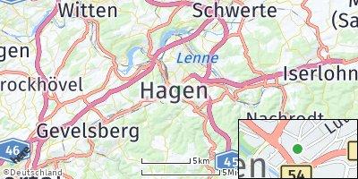 Google Map of Hagen