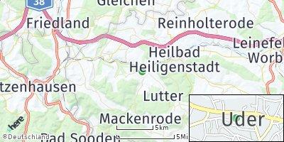 Google Map of Uder