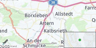 Google Map of Artern / Unstrut