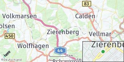 Google Map of Zierenberg