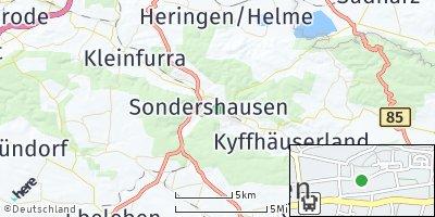 Google Map of Sondershausen