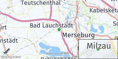 Google Map of Milzau