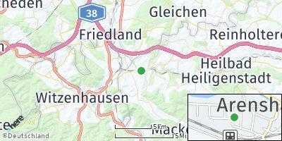 Google Map of Arenshausen