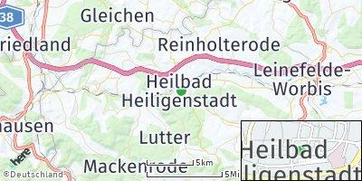 Google Map of Heilbad Heiligenstadt