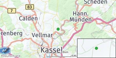 Google Map of Fuldatal