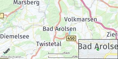 Google Map of Bad Arolsen