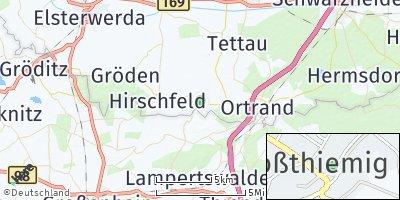 Google Map of Großthiemig