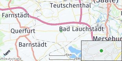 Google Map of Schafstädt