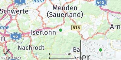 Google Map of Hemer