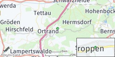 Google Map of Kroppen