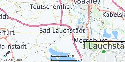 Google Map of Bad Lauchstädt