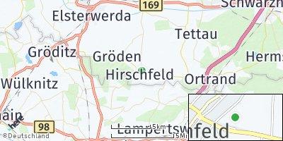 Google Map of Hirschfeld