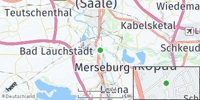 Google Map of Schkopau