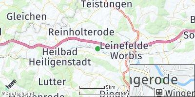 Google Map of Wingerode