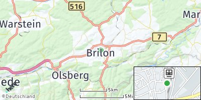 Google Map of Brilon