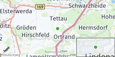 Google Map of Lindenau