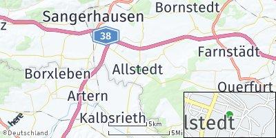 Google Map of Allstedt
