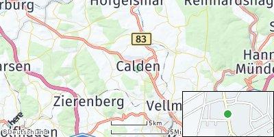 Google Map of Calden