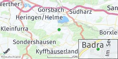Google Map of Badra