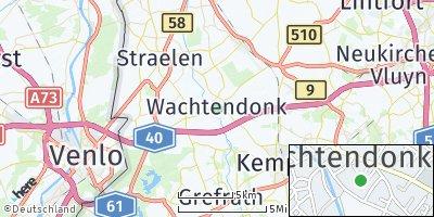 Google Map of Wachtendonk