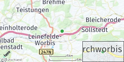 Google Map of Kirchworbis